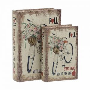 "SET CUTII DECORATIVE ""FLOWER VELO"""